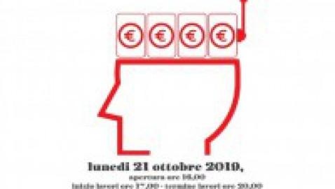 Un'assemblea pubblica per parlare di gioco d'azzardo e dei rischi che comporta, VIDEO ATTI – 21 ottobre 2019, Roma est