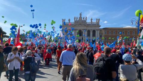 Mai più fascismi: per il lavoro, la partecipazione, la democrazia – 16 Ottobre 2021 p.zza San Giovanni Roma