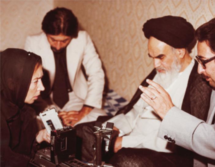 Banisadr_Fallaci_Khomeini- oriana fallaci