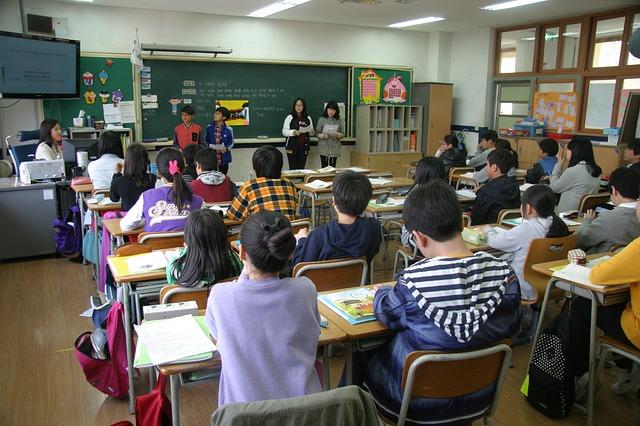classe di alunni