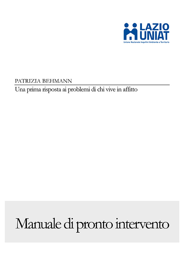 Manuale di pronto intervento